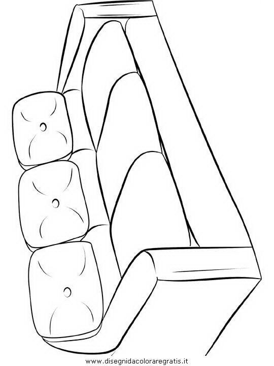 Disegno divano94 misti da colorare for Divano disegno