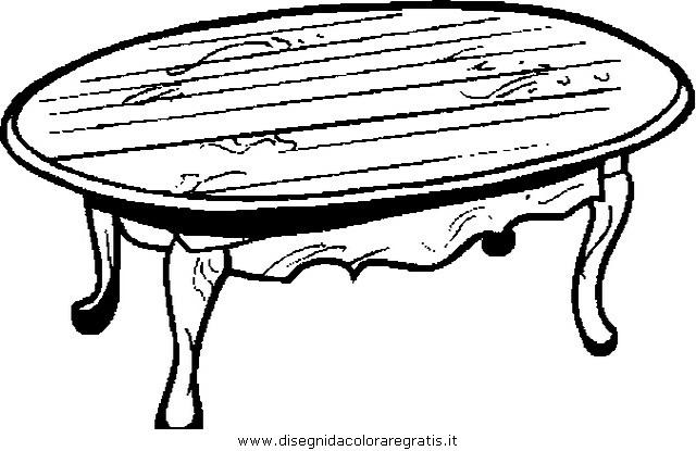 Disegno mobile tavolo 47 misti da colorare - Tavolo da disegno ikea ...