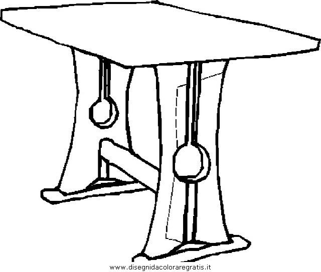 Disegno tavolo tavolino 103 misti da colorare - Il tavolo da disegno ...