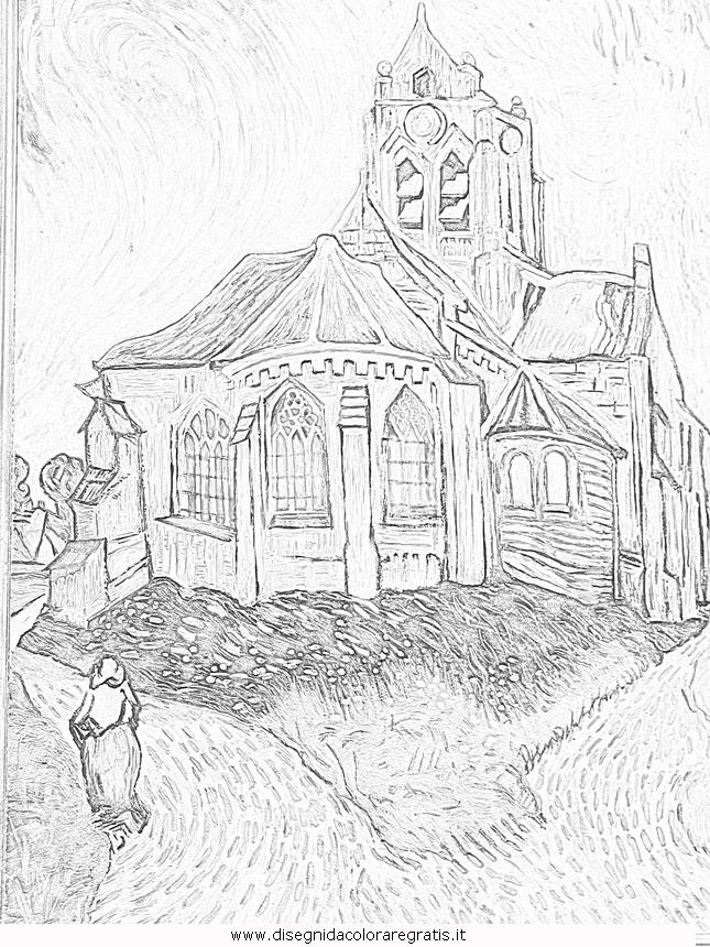 Quadri Di Van Gogh Da Colorare