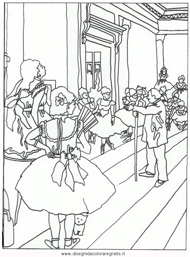 Monet Coloring Pages Images Sketch Coloring Page