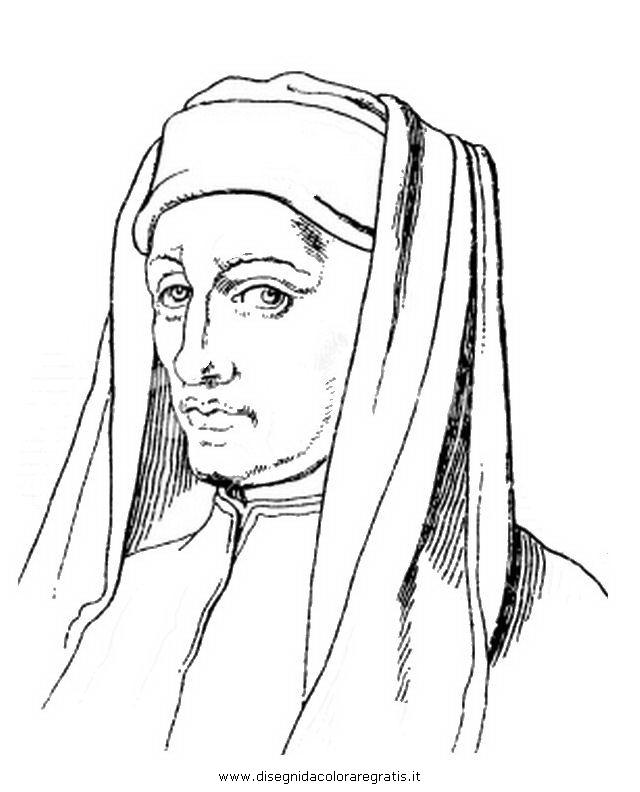Disegno Giotto Misti Da Colorare