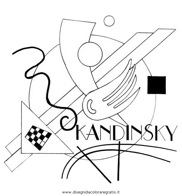 Disegni Di Kandinsky Da Colorare Stampae Colorare
