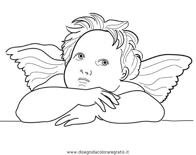 Disegno Raffaello Angioletti 03 Misti Da Colorare