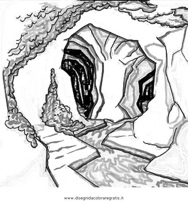 Disegni Da Colorare Grotta Di Natale.Disegno Grotta Misti Da Colorare