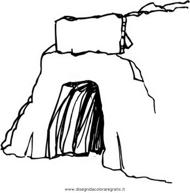 Disegni Da Colorare Grotta Di Natale.Disegno Grotta 2 Misti Da Colorare