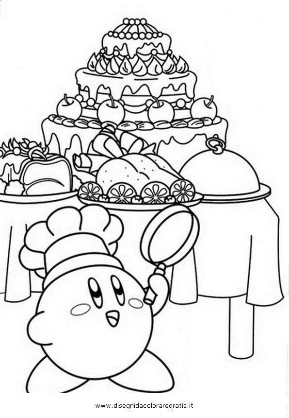 Disegno Kirby3 Misti Da Colorare