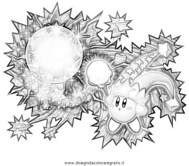 Disegno Kirbysferamagica Misti Da Colorare