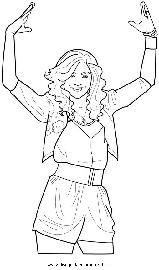 Images of Zendaya Coloring Pages - #SpaceHero