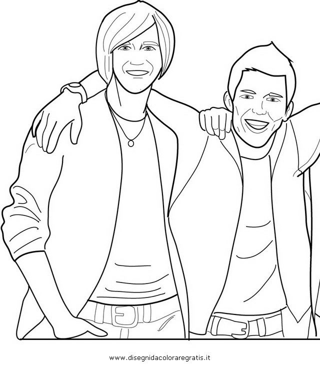Logan Big Time Rush Coloring Pages Coloring Pages Big Time Coloring Pages