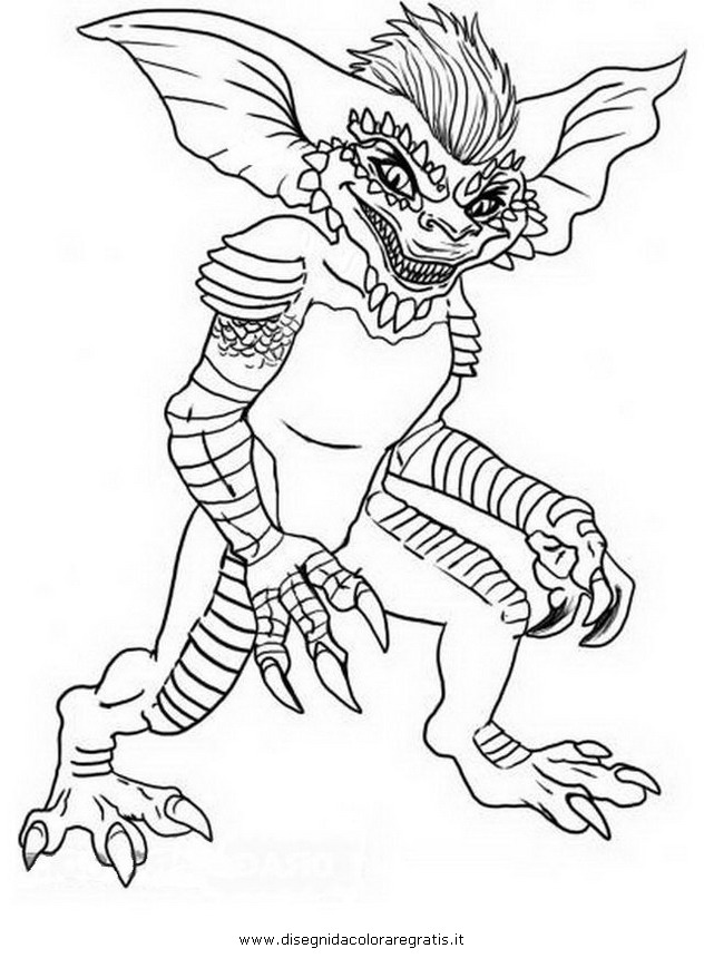 Free Coloring Pages Of Gizmo From Gremlins Gremlins Coloring Pages