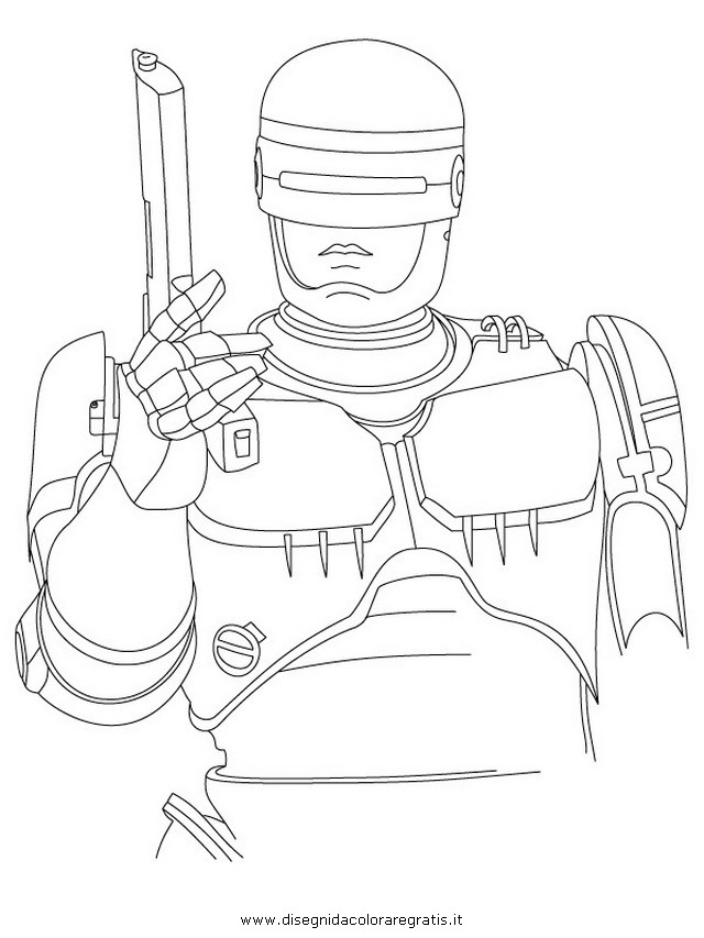 robocop coloring pages - photo#11