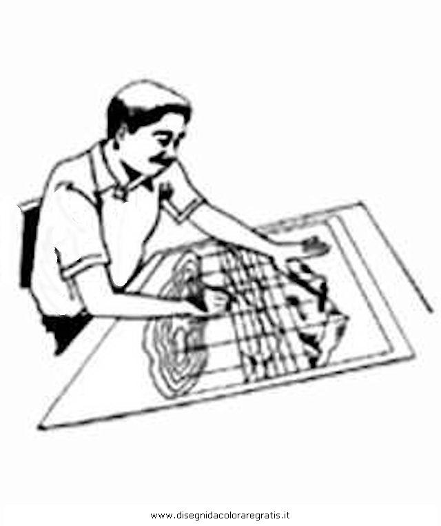 Disegno cartografo misti da colorare for Immagine di un disegno di architetto