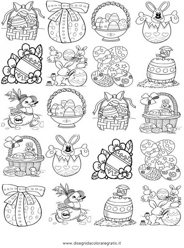 Disegno memory 2 misti da colorare for Memory da stampare