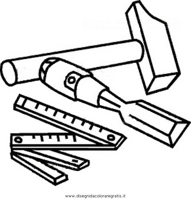 Disegno scalpello 0 misti da colorare for Disegno giardino da colorare