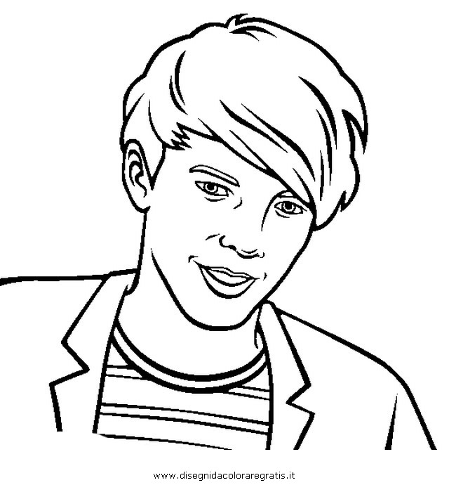 One direction coloring pages louis coloring page for Zayn malik coloring pages