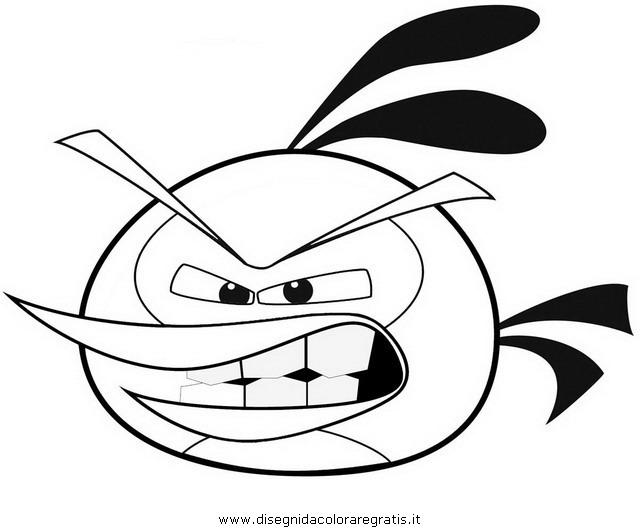 Disegni Da Colorare Angry Birds.Disegno Angry Birds Bubbles 1 Misti Da Colorare