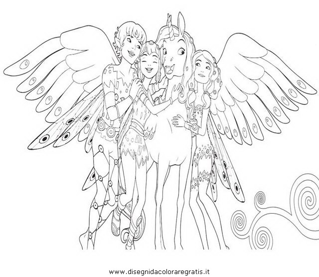 mia and me coloring pages - photo#5