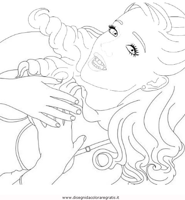 Ariana Grande Coloring Pages Sketch Coloring Page
