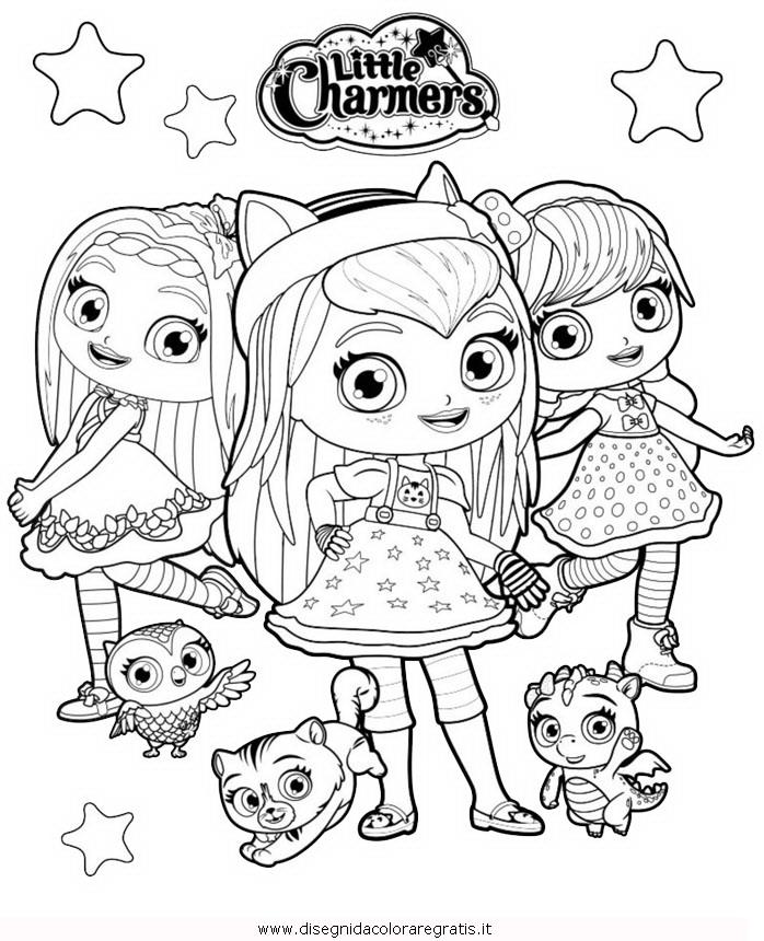 Disegno Little-Charmers-1 misti da colorare