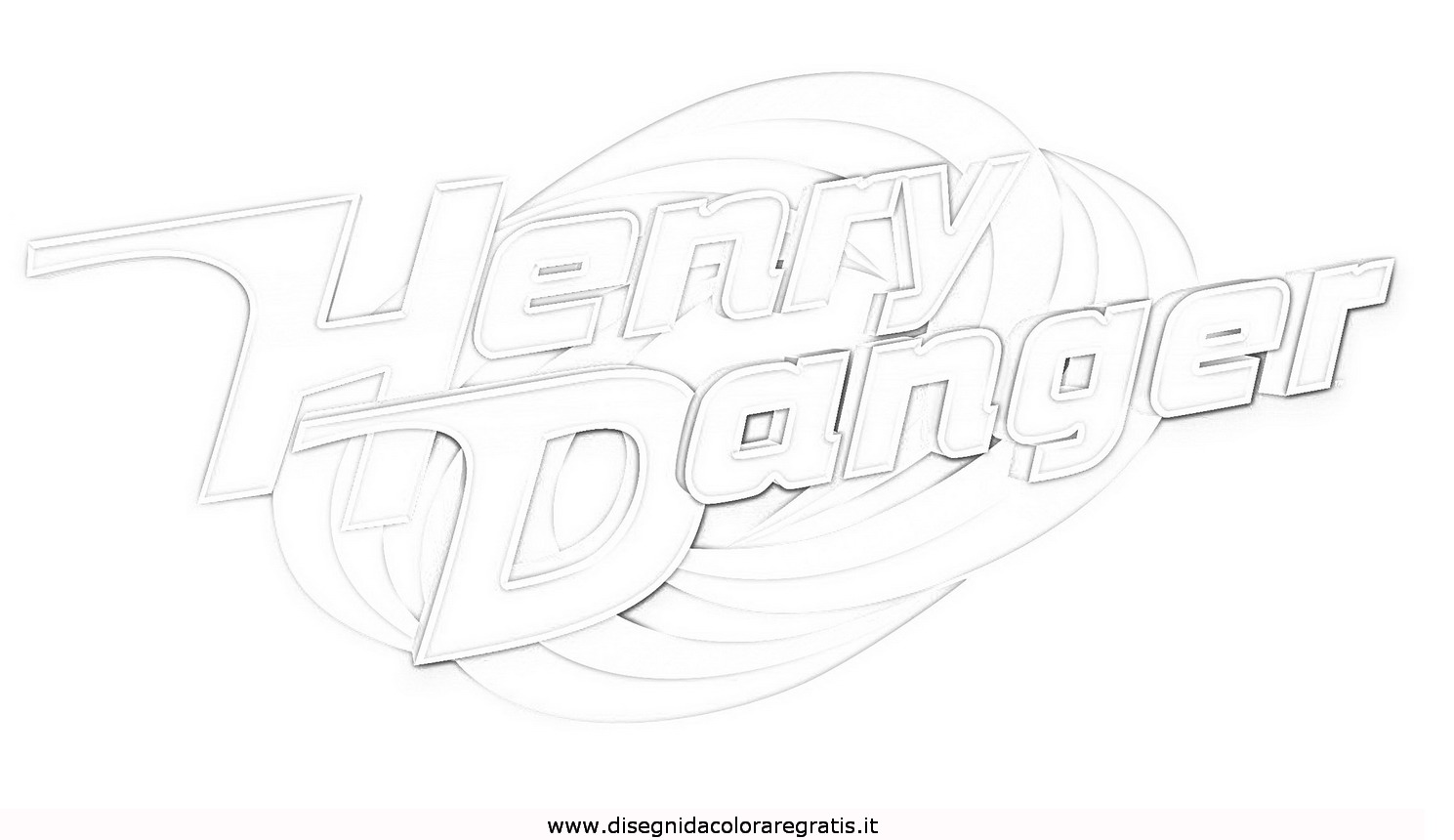 henry danger coloring pages - disegno henry danger 2 misti da colorare sketch coloring page