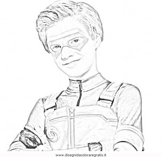 Henry Danger Sketch Coloring Page