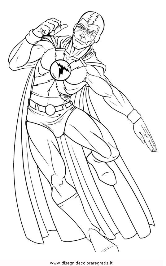Disegno Thunderman2 Misti Da Colorare