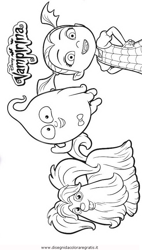 Vampirina Coloring Pages Pictures To Pin On Pinterest