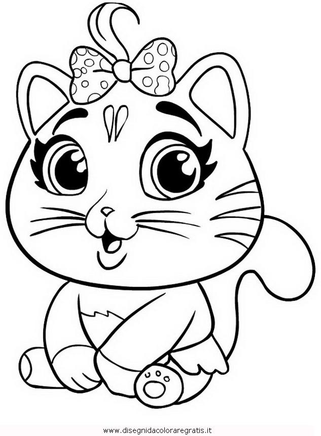 Disegno 44gattibuffycats5 Misti Da Colorare