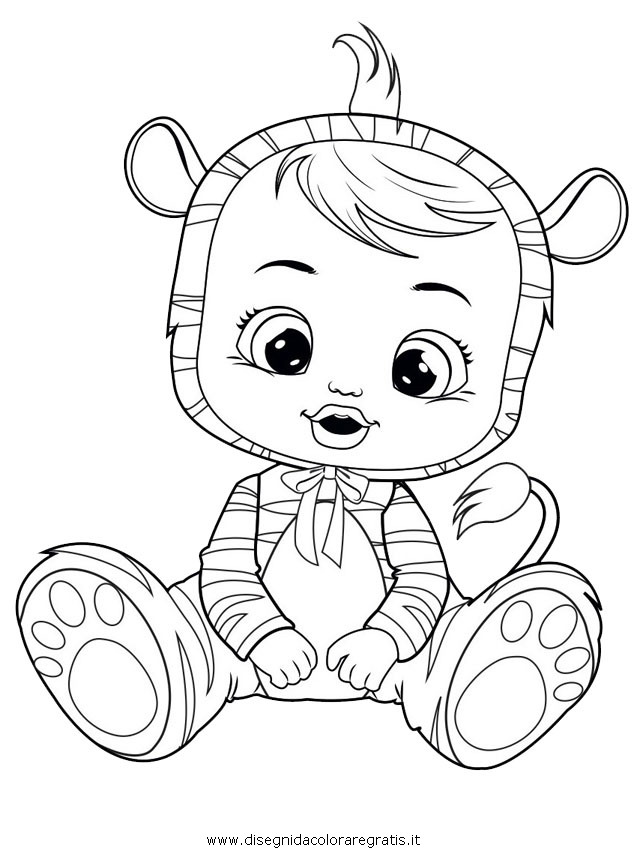 101 Cry Baby Da Colorare 100 Colorazione Delle Immagini