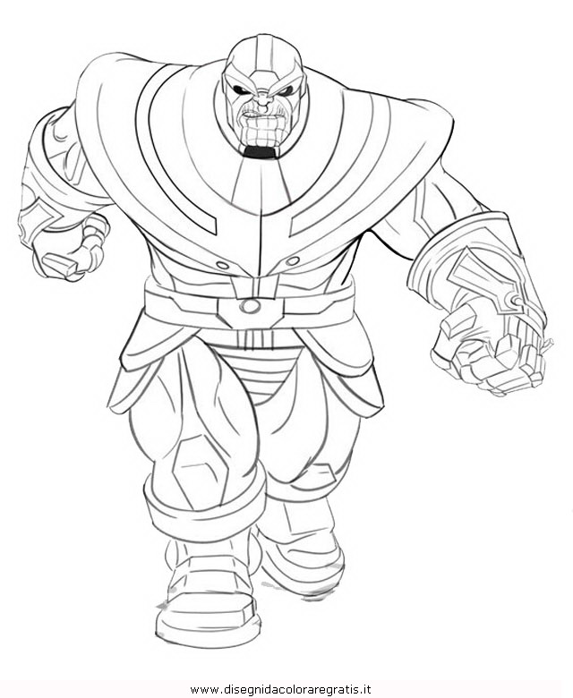 Disegno thanos 1 misti da colorare for Fortnite disegni da colorare