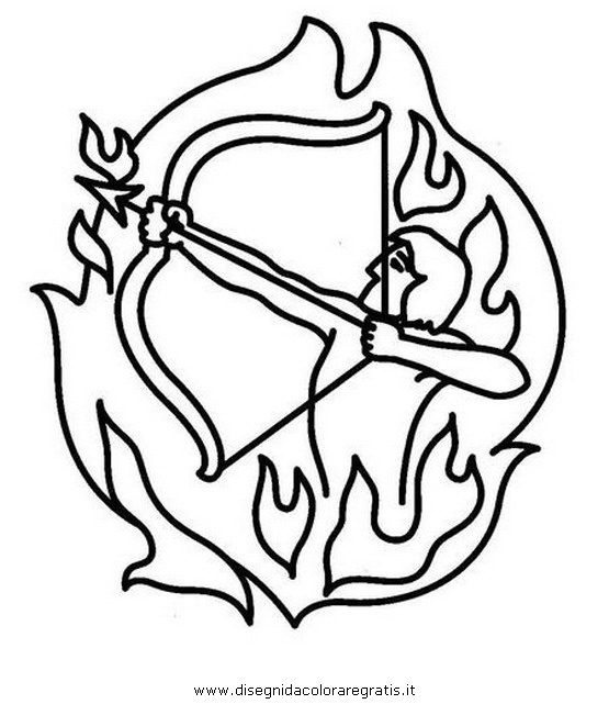 sagittarius coloring pages - photo #22