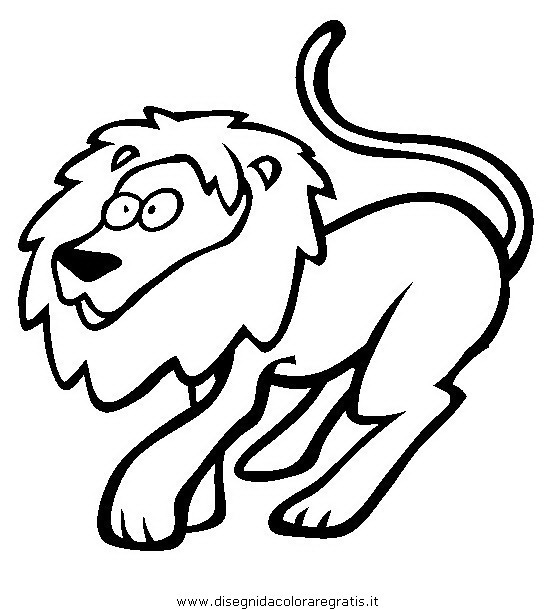 disegno segni zodiacali leone misti da colorare