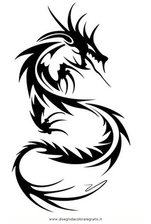 Ben noto Disegno tatuaggi_tribali_00 misti da colorare VK25