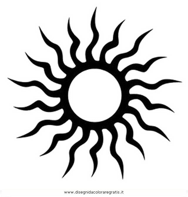 Famoso Disegno tatuaggi_tribali_18 misti da colorare WM18