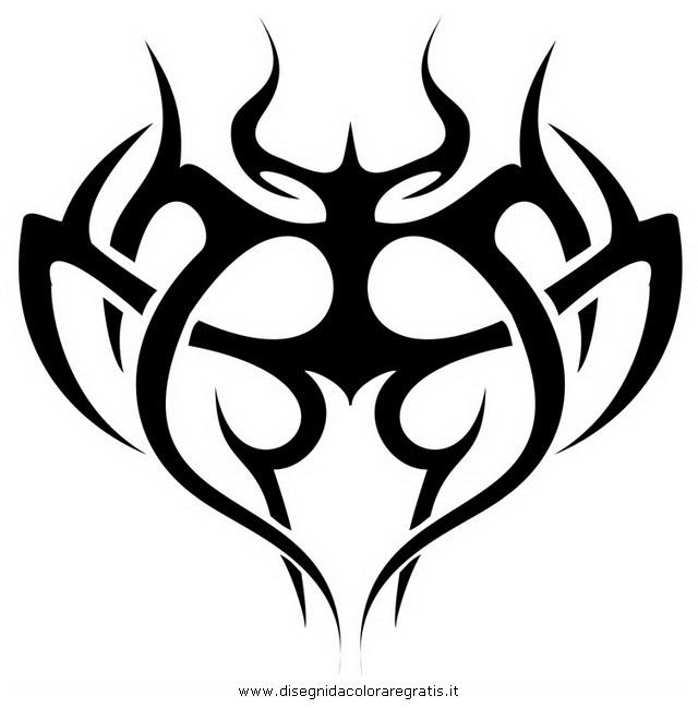 Popolare Disegno tatuaggi_tribali_23 misti da colorare ZE77