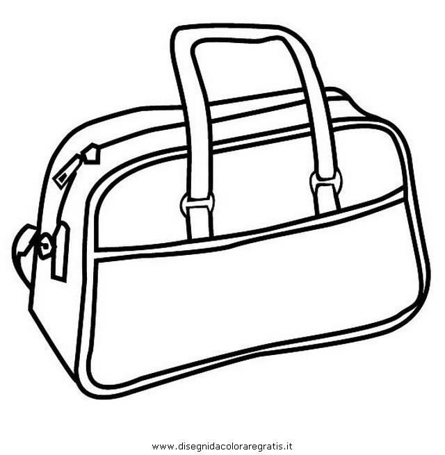 Раскраски сумочки для девочек
