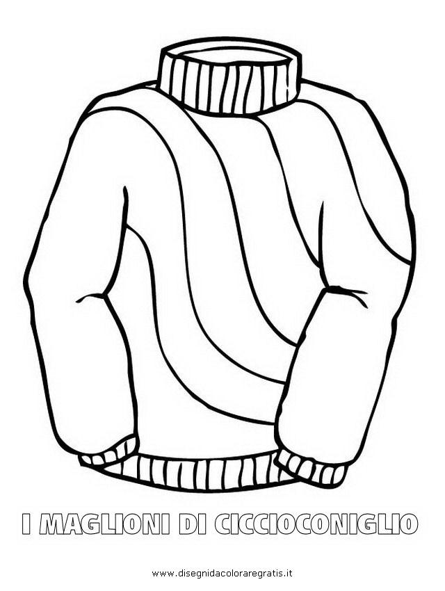 Felpa Disegno Da Colorare.Disegno Maglione Ciccioconiglio 11 Misti Da Colorare