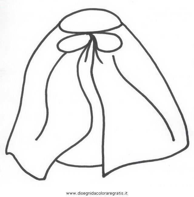 Disegno mantello misti da colorare for Cavallo da disegnare per bambini