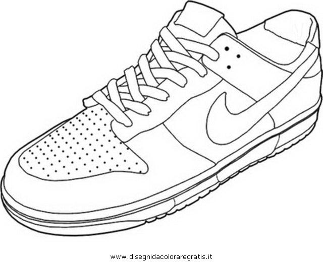 Disegno Colorare Da Da Nike 4Misti Nike Disegno Disegno Colorare 4Misti Nike LRj5A4q3