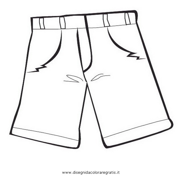 long pants coloring pages - photo#13