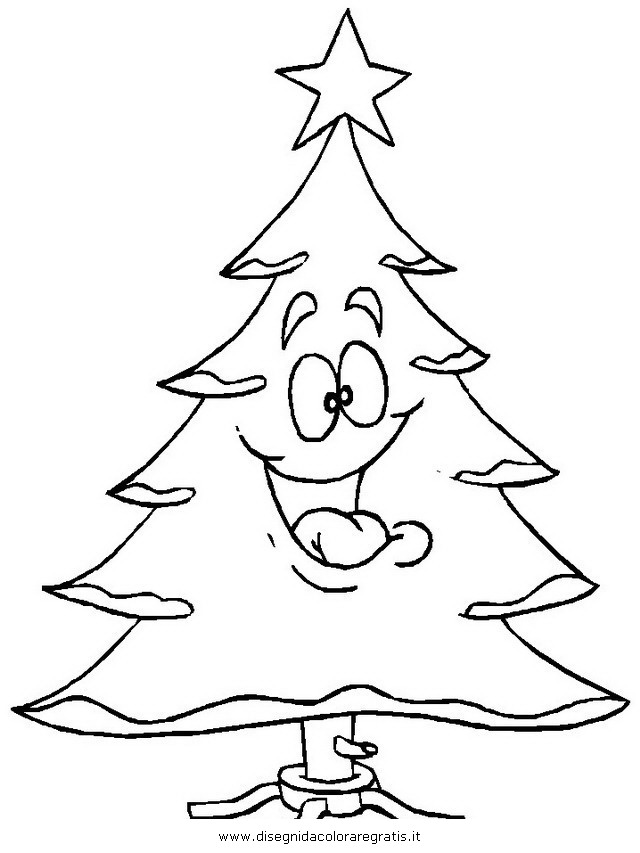 Disegni Da Colorare Natale Alberi.Disegno Albero Natale 25 Categoria Natale Da Colorare
