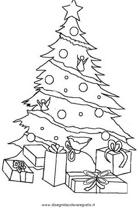 disegno alberonatale33 categoria natale da colorare