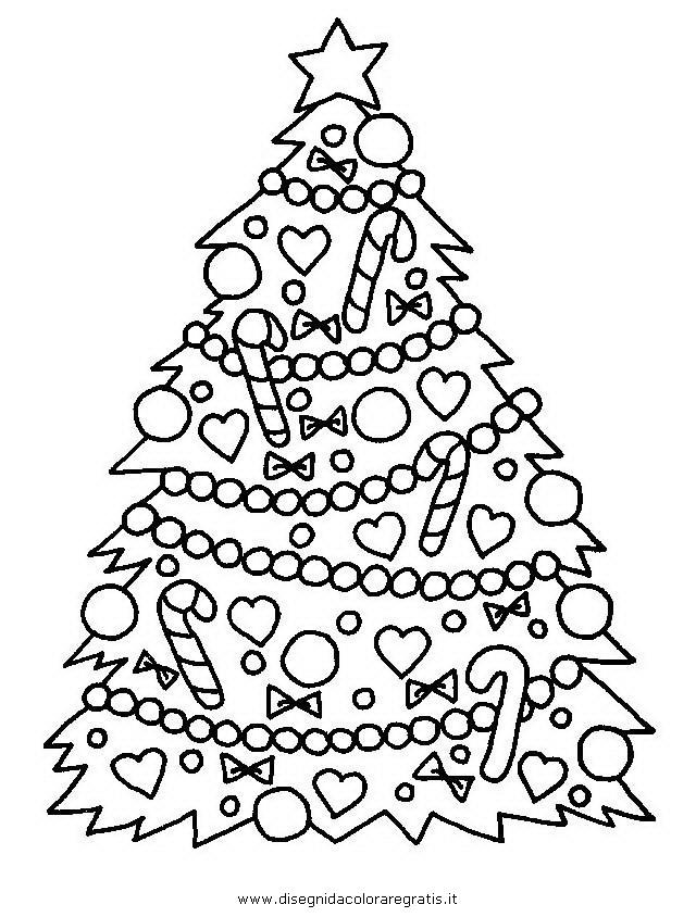 Disegni Da Colorare Gratis Di Natale.Disegno Albero Natale 40 Categoria Natale Da Colorare