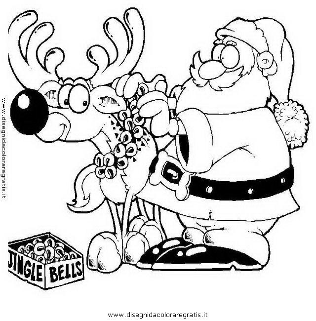Disegno Babbo Natale 024 Categoria Natale Da Colorare