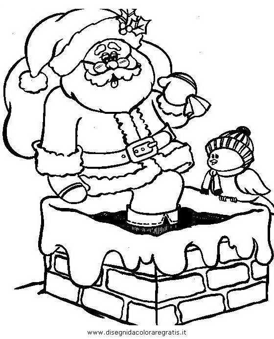 Disegno Babbo Natale 123 Categoria Natale Da Colorare