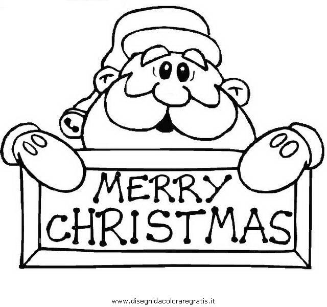 Disegni Da Colorare Natale A4.Disegno Babbo Natale 137 Categoria Natale Da Colorare