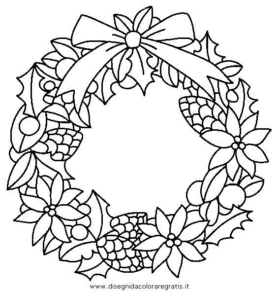 Disegni Di Natale Ghirlande.Disegno Ghirlande Natale 21 Categoria Natale Da Colorare