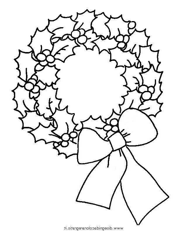 Disegni Di Natale Ghirlande.Disegno Ghirlande Natale 25 Categoria Natale Da Colorare