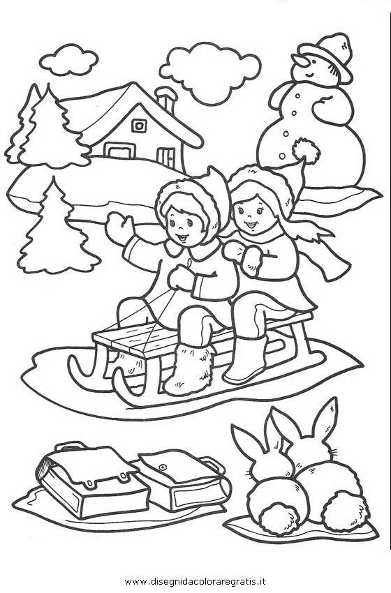 Disegno natale paesaggi 52 categoria natale da colorare for Paesaggi da colorare per bambini